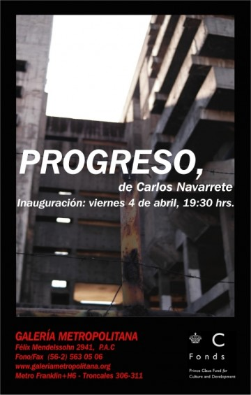 PROGRESO, de CARLOS NAVARRETE