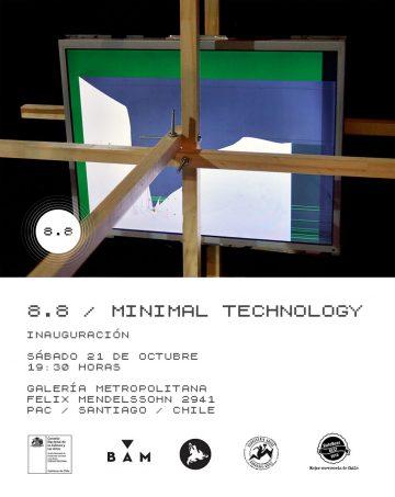 8.8 un proyecto de MINIMAL TECHNOLOGY
