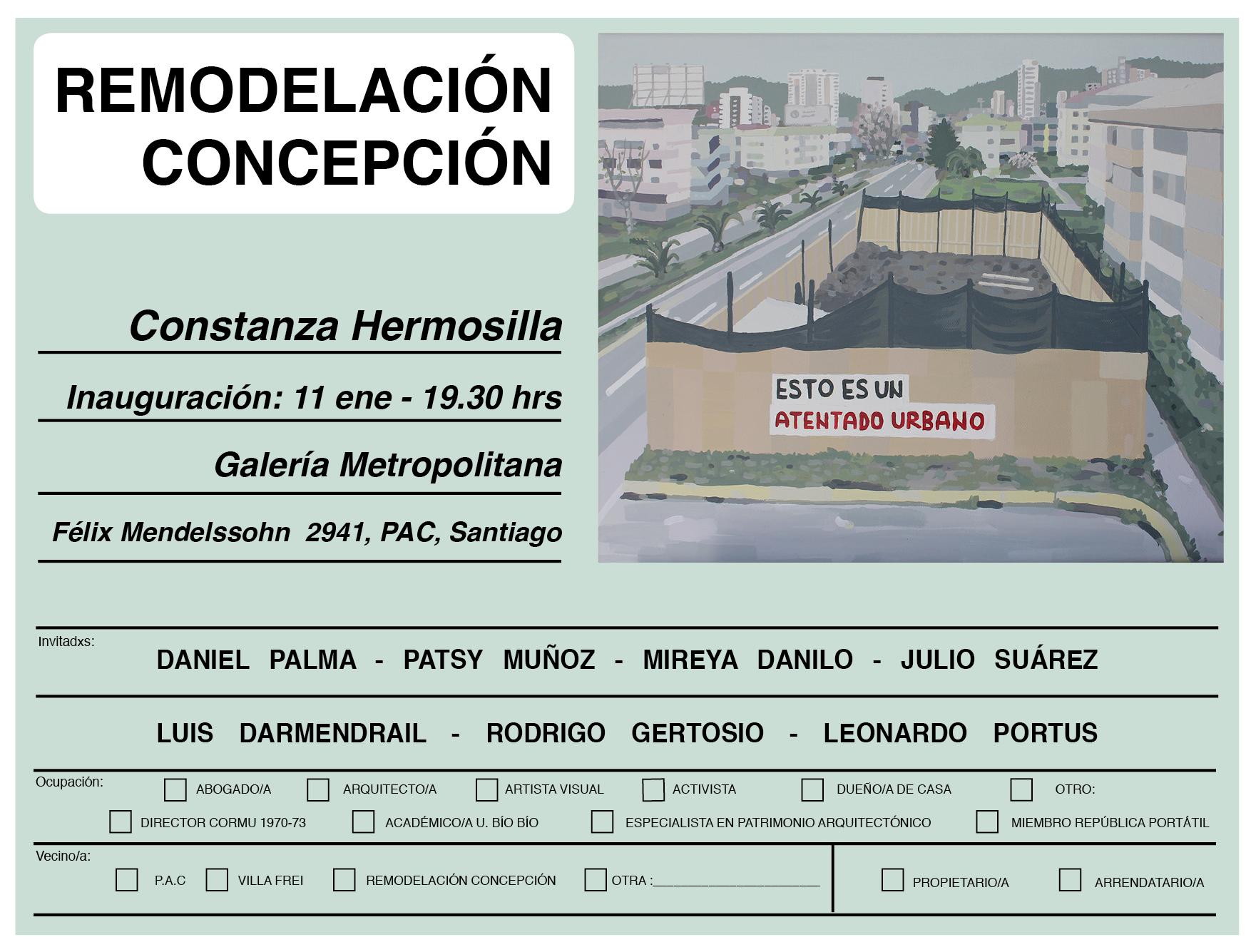 REMODELACIÓN CONCEPCIÓN - Constanza Hermosilla
