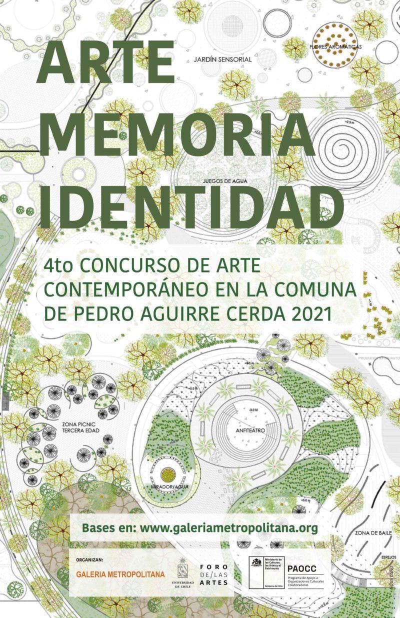 ARTE, MEMORIA, IDENTIDAD - 4to Concurso de Arte Contemporáneo en la Comuna de Pedro Aguirre Cerda 2021